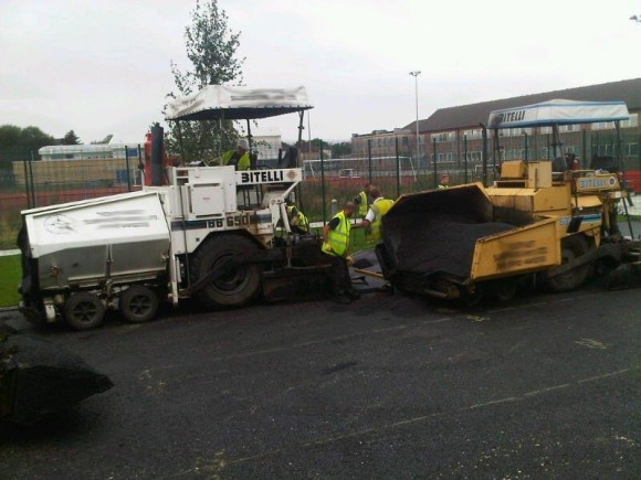 Total Surfacing Solutions machinery